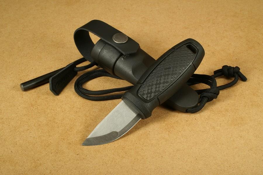 Morakniv Eldris Black Neck Knife Kit Feststehendes