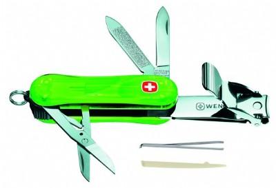 schweizer taschenmesser grün